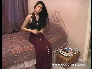 Shabana Kausar Brit Indian Nymph Self-defilement