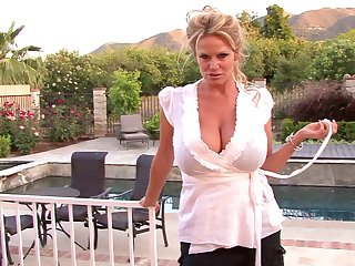 Kelly Madison wants to make a lover's massive cock stiff