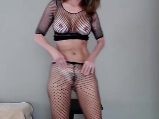 Milf Jess Ryan Ass Shaking in Fishnets