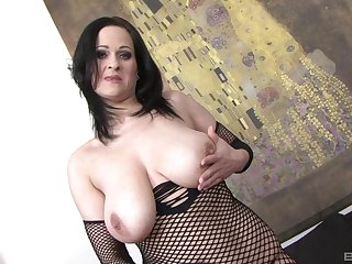 Hardcore doggy style fuck be worthwhile for Diana Swiet by a big black dick