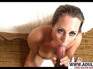 Sneaky Milf Amy POV Sex