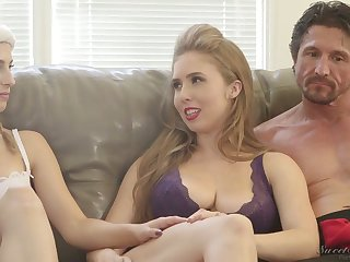 Ardent nympho Kristen Scott and some more offbeat porn by degrees during interview