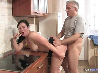 Matured Man Has Fun With Curves Neighbour - FORNICATE Firm SEX