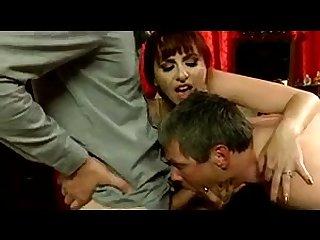 Bisexual Cuckold Threesome With Kinky Redhead