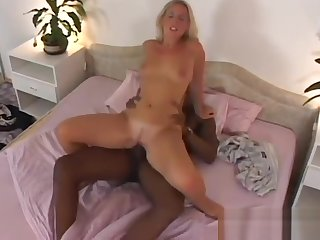 NWORSHIP White Blonde wife Sofia cheating with Black Cock