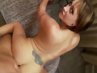 Eva Notty_s Amazing Ass Pounded Doggystyle She got Chap-fallen