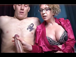 Domme T is a horny, platinum-blonde female almost a satin tee-shirt who enjoys to almost voluptuous handjobs
