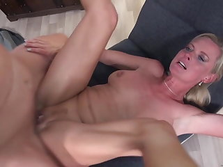 Sexy mature moms be wild about young dirty sons