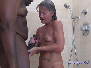 Granny slattern and black guy
