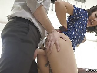 Husband ass fucking fucks wife and her operation keep alive