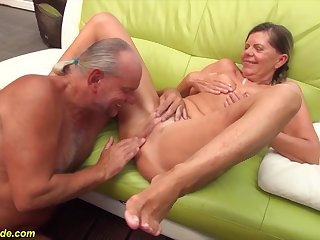 sexy skinny german pigtailgranny gets rough doggystyle chunky bushwa fucked off out of one's mind her husband