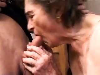 OldNanny Beamy granny with an increment of old granny masturbating