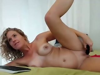 Blonde Milf Toying Her Butthole And Pissing Part 01