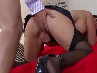 Mint young nightfall darkness bimbo Paige does her best to realize cum in mouth