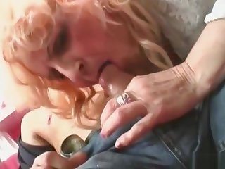 Blonde granny forth stockings takes pounding