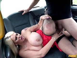 Perforated nipples Shannon Blue gets her cunt pounded like never before