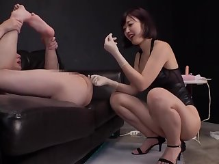Pink Suspender Stockings Asian Matured Hindrance Ass