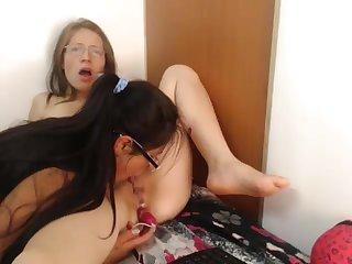 valery obtain her twat licked lesbian