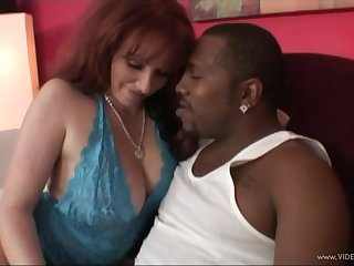 Chubby MILF hammered by a big black flannel with regard to interracial lovemaking