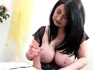 Big Boob grany handjobs Big Dick increased by Rotty Fucks