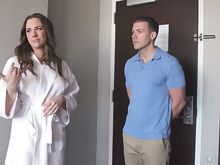 Chanel Preston comes fro get a massage and gets fucked hard