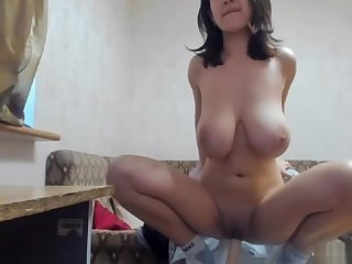 Russian babe Myla is such a sweetie, Bigtits coupled with Shaved pussy