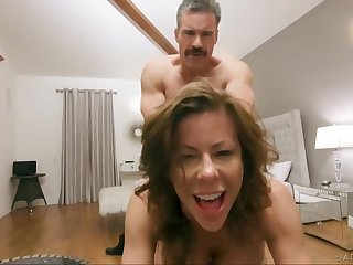 Alexis Fawx and a guy who is not her partner can not hold wrench apart fucking
