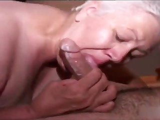 Grandma fast blowjob handjob be advisable for cum