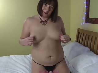 keyholevideo - VIBRATOR & A Condensed ANAL FUN