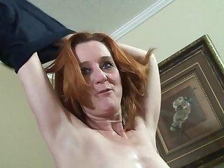 redhead GILF hardcore porn video