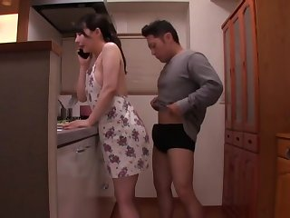 Pulchritudinous babe Akira Eri gets her tight cunt pounded in the Nautical galley