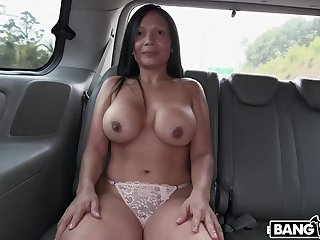 Put emphasize BangBus in Colombia Fucking A Big Booty Latina Milf!